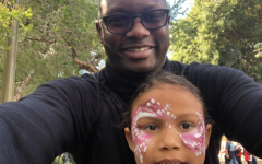 Dr. Glass and his daughter.