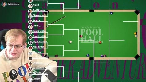 Shows readers the game bracket and an insight into just how many streamers participated.