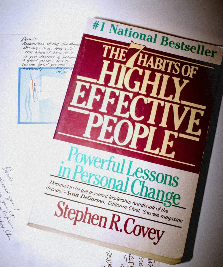 Stephen Covey's son Sean Covey adapted his father's famous self-help book, The 7 Habits of Highly Effective People, just for teens.