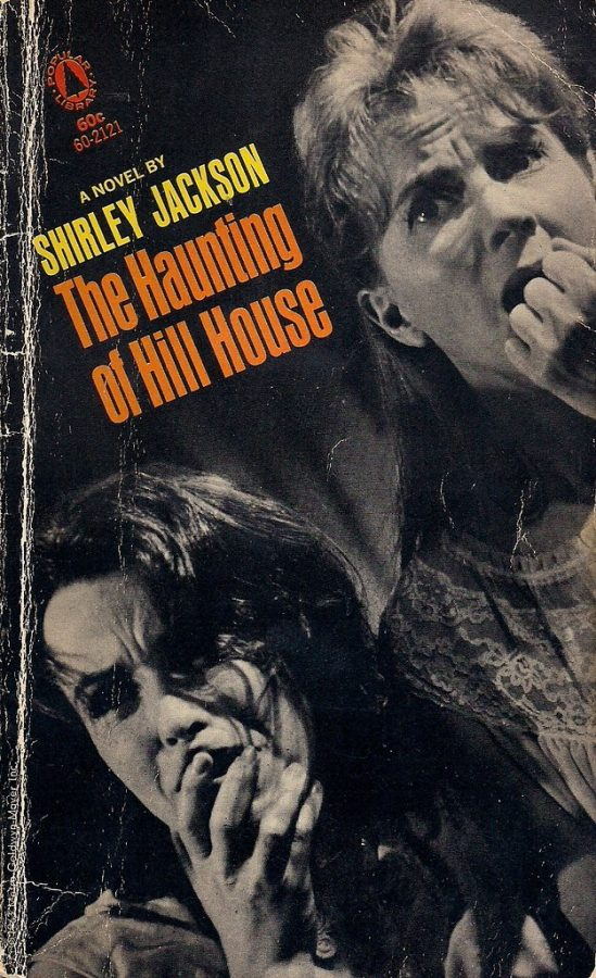 Popular library edition of Shirley Jacksons The Haunting of Hill House, circa 1960s.