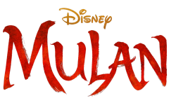 The Disney Mulan logo for the 2020 live action remake of the classic.