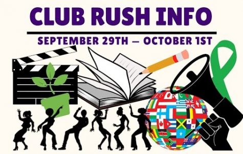 The picture on the Club Rush flyer posted on the MECA Community Google Classroom.