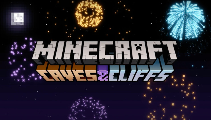 Minecraft Caves and Cliffs Update. Image courtesy of Mojang, from the Minecraft LIVE 2020 Summary.