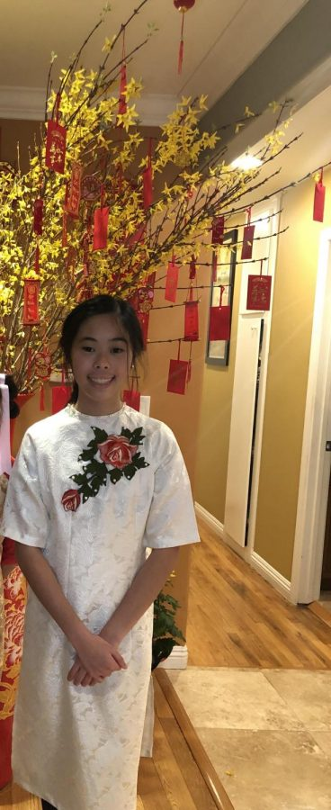 Annie Tran celebrates Chinese New Year with her family.