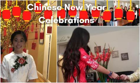 Annie Tran and Gianna Ngo showcase their previous Chinese New Year celebrations alongside the artwork of Lauren Diep.