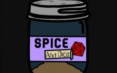 Official Temporary LOGO for the Spice & Dice Podcast