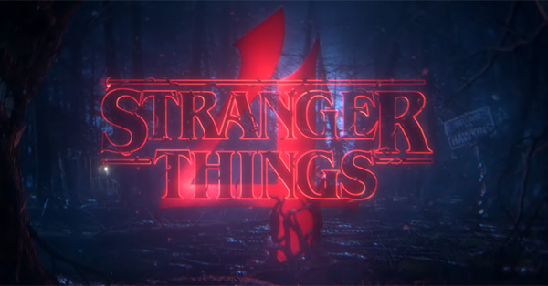 Stranger Things season 4 teaser image.