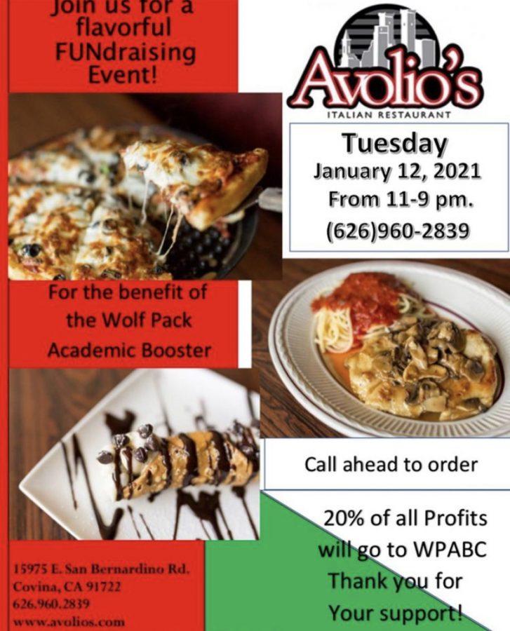 Avolio's restaurant WPABC fundraiser.