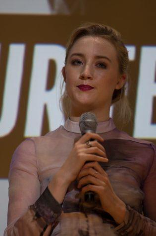 """""""How I LIve Now - Saoirse Ronan""""; image of Saoirse Ronan, the actress who plays Lady Bird"""