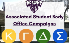 Featuring the Mt. SAC Early College Academy logo, physical campus, and House symbols, this image represents the 2021 Associated Student Body Office Campaigns.