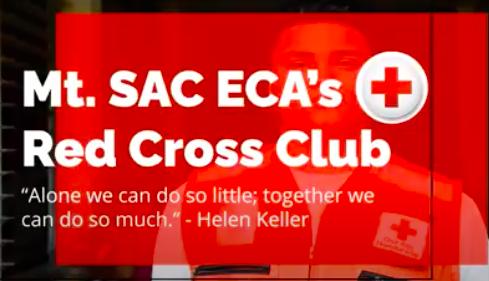 Screenshot from Red Cross Clubs club rush video.