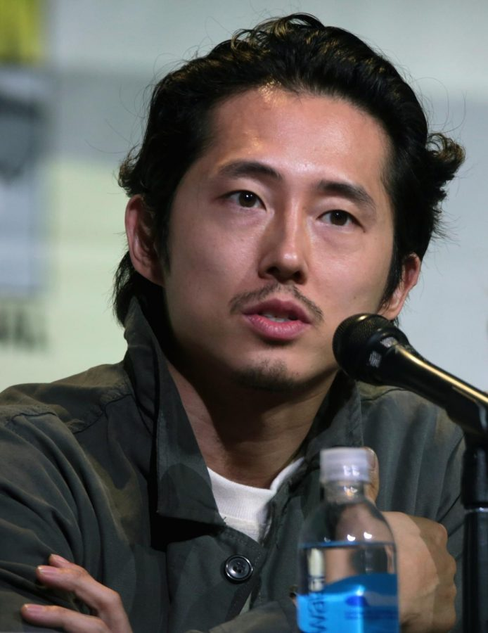 This image shows the Steven Yeun, the actor playing Jacob in the film Minari.