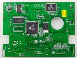 This is another object that would have been present at in person Computer & Technology Club, a printed board.