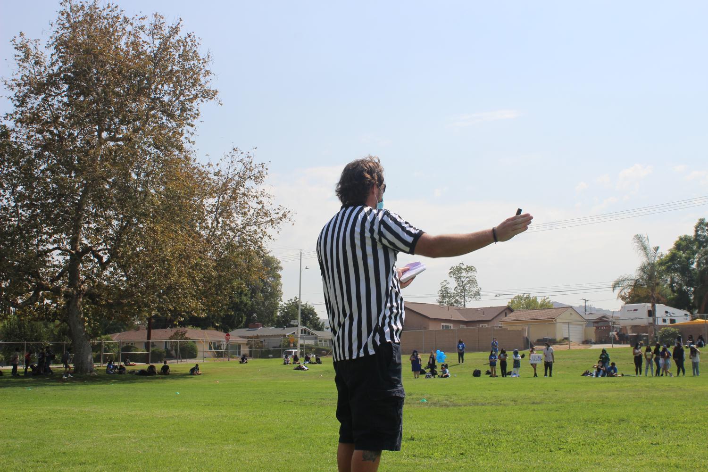Mr. Nichols as Referee